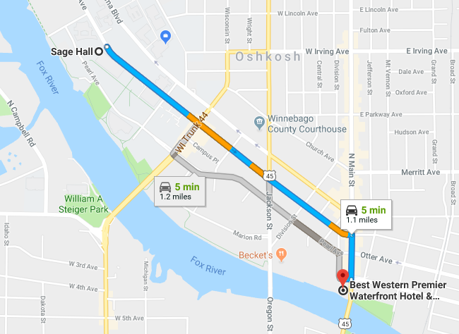 Directions to Hotel